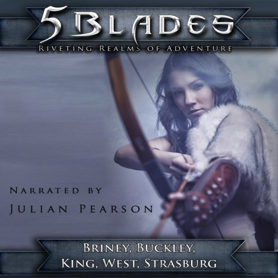 5 Blades audiobook by Drew Briney